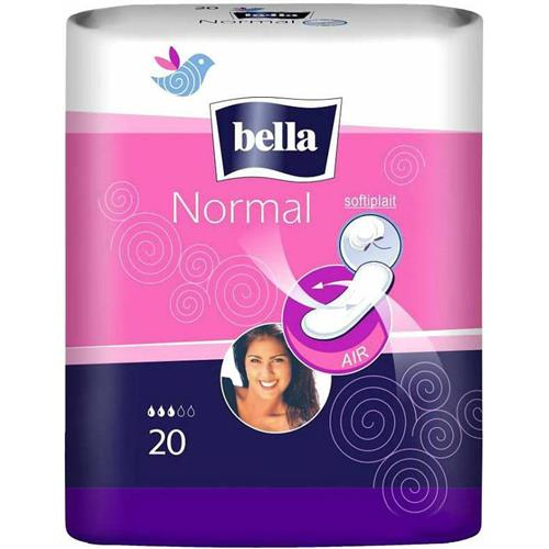 Podpaski higienieczne, krótkie, bez skrzydełek 20szt Bella Normal