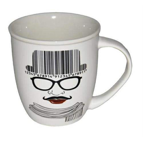 Kubek Ceramiczny wzór White Coffee EH774 Elh