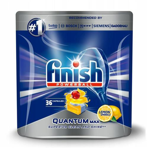 Finish Quantum Max Tabletki Do Zmywarki Lemon  36szt
