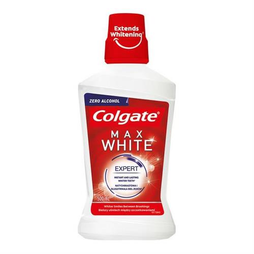 Colgate Płyn Do Płukania Ust 500ml Max White Expert