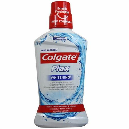 Colgate Płyn Do Płukania Ust 500ml Plax Whitening