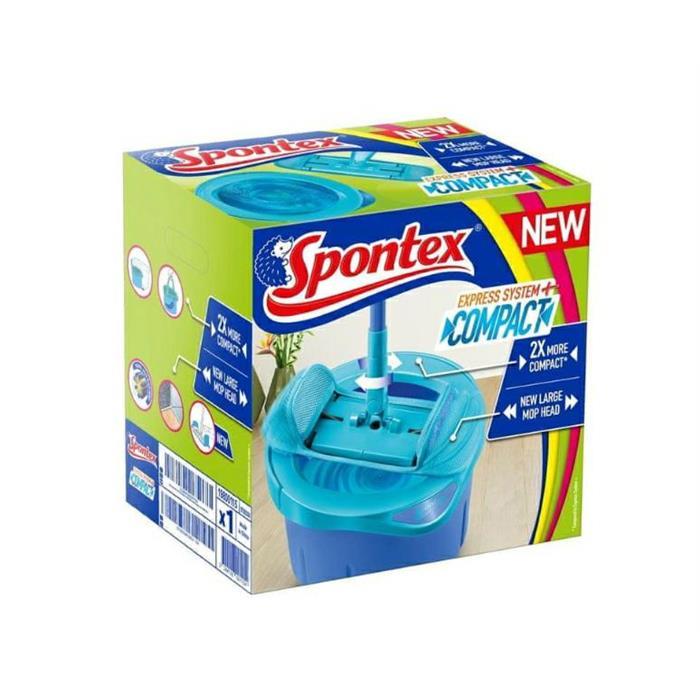Zestawy sprzątające - Spontex Express System+Compact 500000003 -