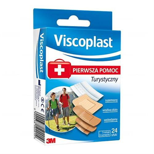 3M Viscoplast Plastry Turystyczne 24szt