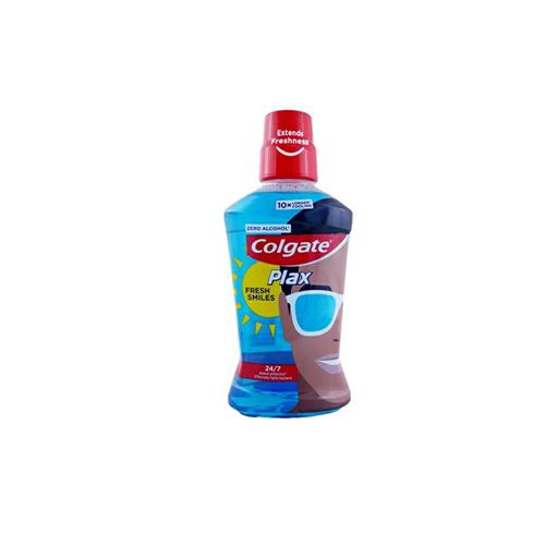 Colgate Płyn Do Płukania Ust 500ml Plax Fresh Smiles