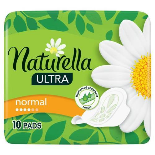 Podpaski Ze Skrzydełkami 10szt Naturella Ultra Normal