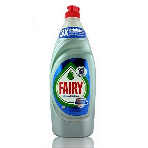 Fairy Płyn Do Naczyń 650ml Ekstra Higiena