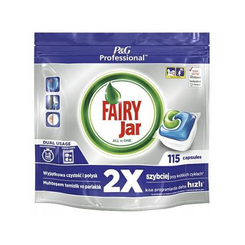 Fairy Jar Tabletki Kapsułki Do Zmywarek 115szt