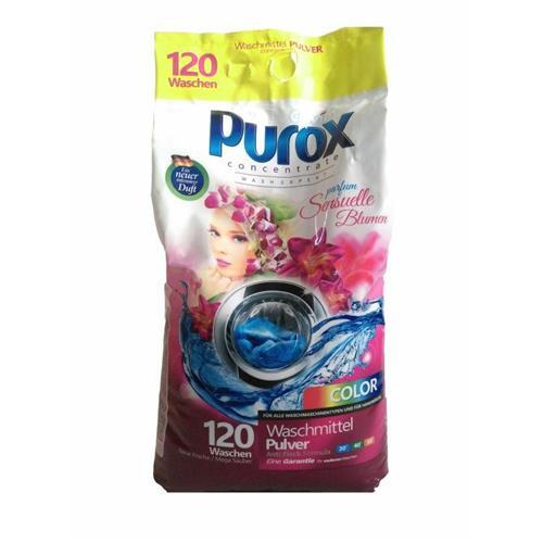 Purox Proszek Do Prania Perfumowany Color 9,2 Kg Parfum Sensuelle Blumen