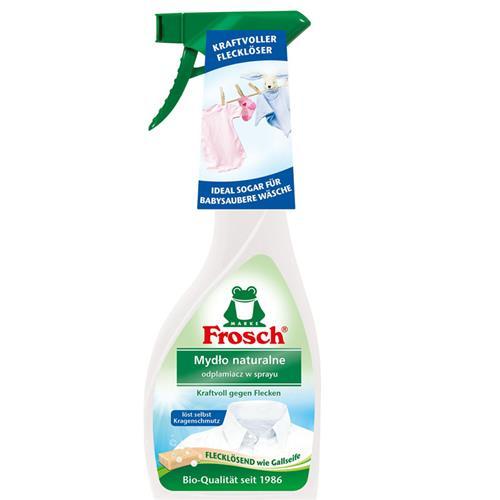 Frosch Odplamiacz Spray Mydło Naturalne 500ml