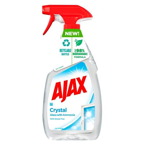 Ajax Płyn Do Szyb Crystal 500ml..