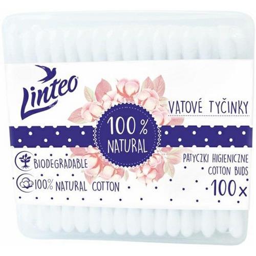 Patyczki Kosmetyczne 100szt Box Linteo..