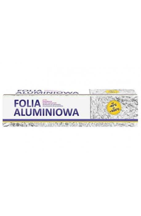 Folie, worki, papiery spożywcze - Folia Aluminiowa 1kg Gastronomiczna W Kartonie -