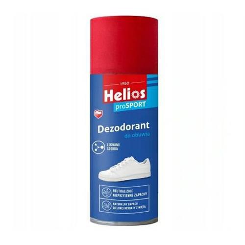 Helios Dezodorant Do Obuwia Z Jonami Srebra 150ml..