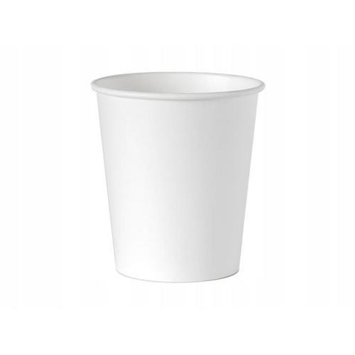 Kubek Papierowy Jednorazowy Biały 250ml 100szt