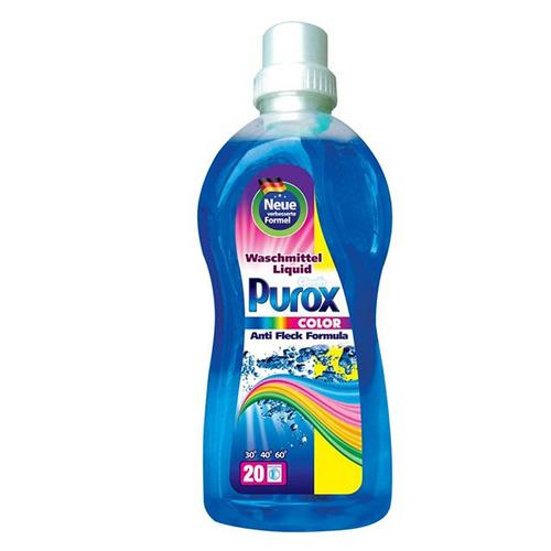 Purox żel do prania kolor 1l