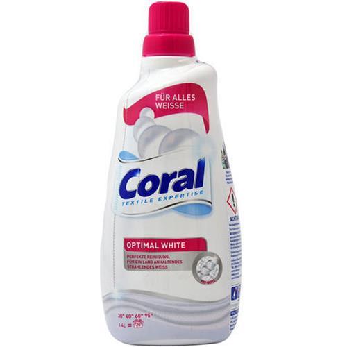 Coral Żel Do Prania Optimal White 1,4l