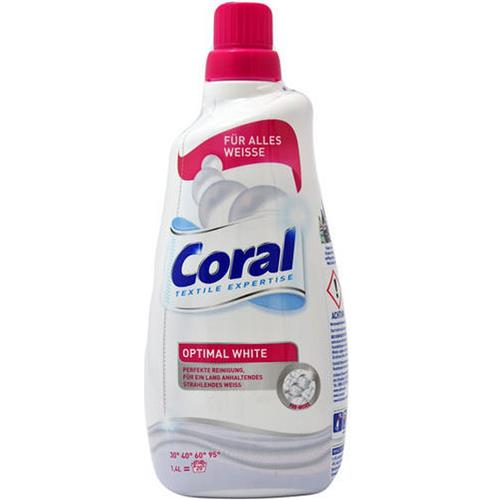 Coral Żel Do Prania Optimal White 1,4l