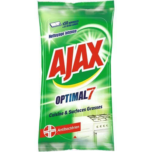 Ajax chusteczki antybakteryjne 70szt