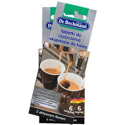 Dr.Beckmann Tabletki do czyszczenia Expresów 5szt