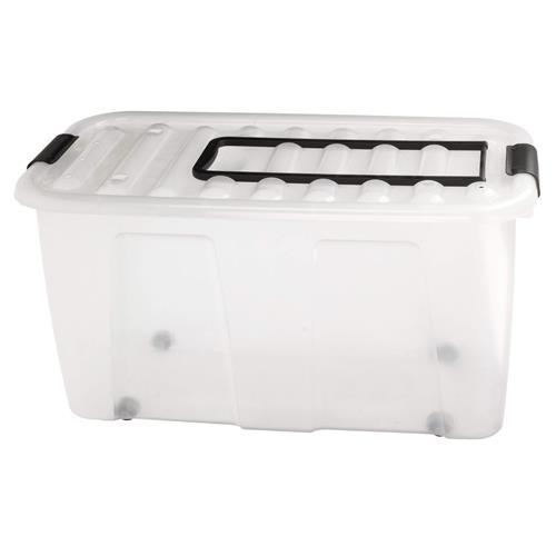 Plast Team Pojemnik Home Box 70l Roller Z Rączką 2229