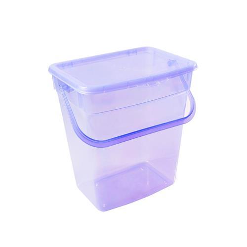 Plast Team Pojemnik Uniwersalny 6l Transparentny Fiolettowy 5058