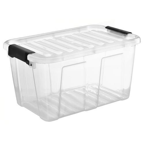 Plast Team Pojemnik Home Box 31l Z  Czarnym Uchwytem 2232