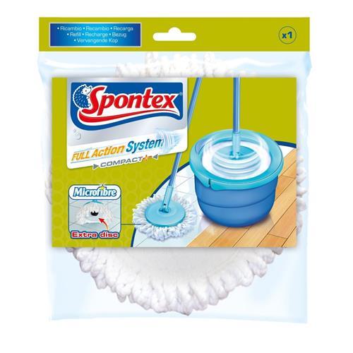 Spontex Full Action wkład do mopa biały 50193