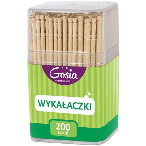 Gosia Wykałaczki w pudełku 200szt 4717