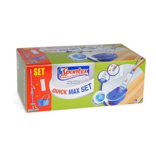 Spontex Quick Max Set Mop+Wiadro karton  50264