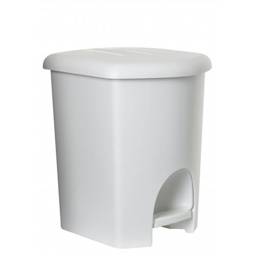 Plast Team Kosz Z Pedałem 16l 1356 Biały