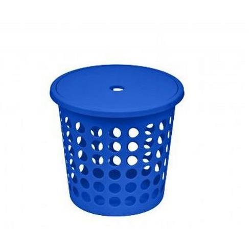 Plast Team Kosz Na Bieliznę Medium 45l Niebieski 6009